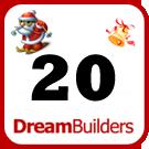 Lucka 20 i Dream Builders julkalender