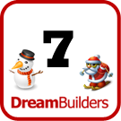 Lucka 7 i Dream Builders Julkalender
