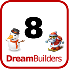Lucka 8 - Dream Builders julkalender