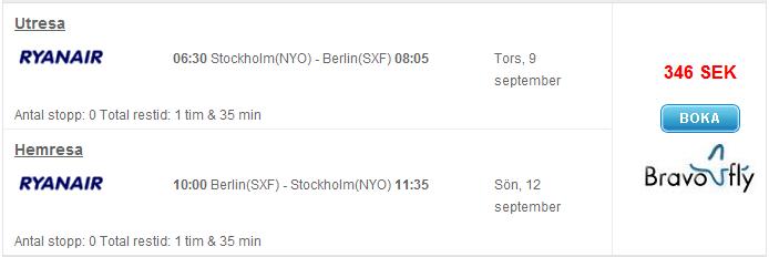 Billig resa till Berlin