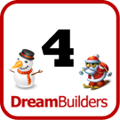 Lucka 4 i Dream Builders julkalender.